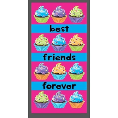 Cupcake Friends Forever Towel