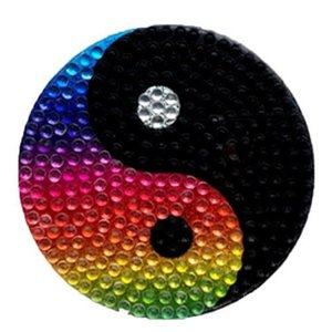Ying Yang Bling Sticker