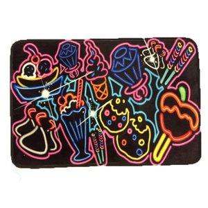 Neon Sweet Shop Mat
