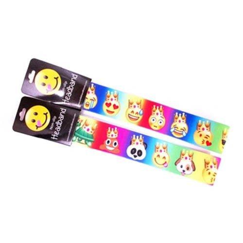 Non-Slip Headband Emoji Crowns
