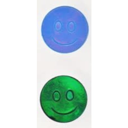 Smiley Face Oily Stickers