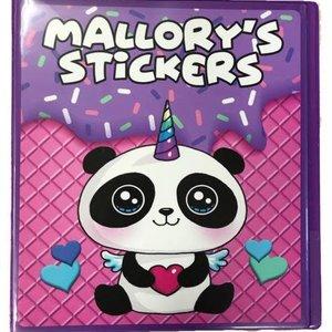 Pandacorn Sticker Book