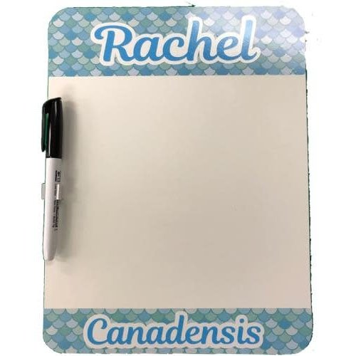 Mermaid Scales Dry Erase Board