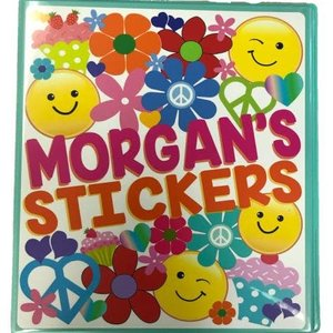 Peace and Love Sticker Book