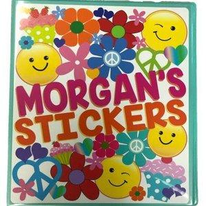 Peace and Love Sticker Book