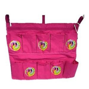 Pink Tie Dye Smiley Shoe Bag