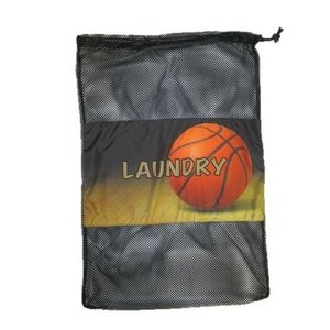 Shooting Hoops Mesh Laundry Bag