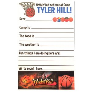 Basketball Fill-In Notecards