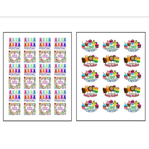 Treats Stickers