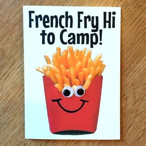 Fries Wiggy Eye Card