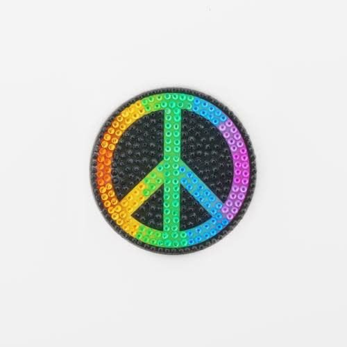 Rainbow Peace StickerBean