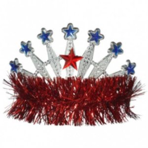 Red, White and Blue Tiara