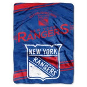 New York Rangers Team Throw Blanket