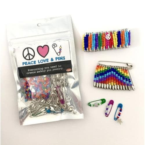 Peace, Love and Pins Kit