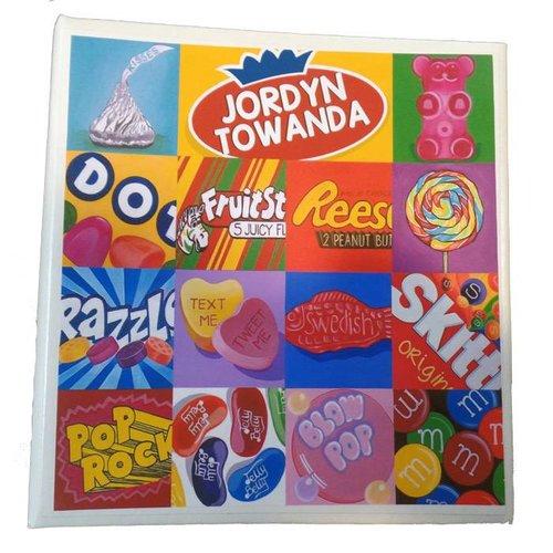 Candy Squares Large Photo Album