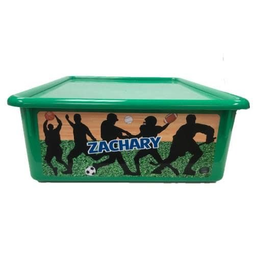 Silhouettes Large Storage Tub