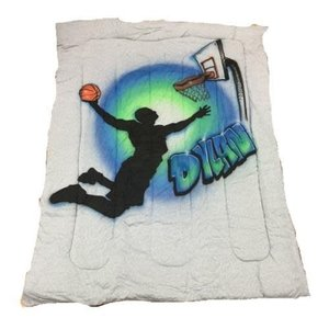 Slam Dunk Airbrushed Comforter