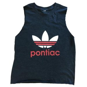 Glitter Adidas Two-Color Tank