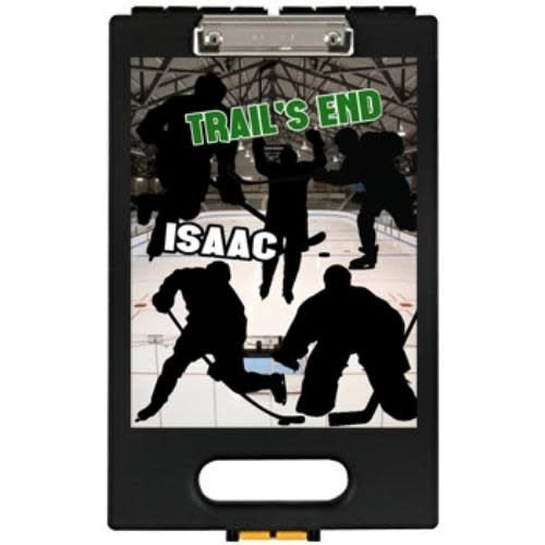Hockey Silhouette Clipboard