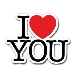 I Heart You Card