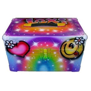 Airbrushed Retro Mini Trunk