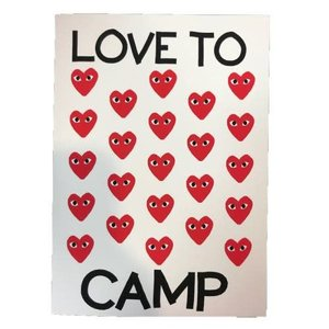 Commes to Camp Card