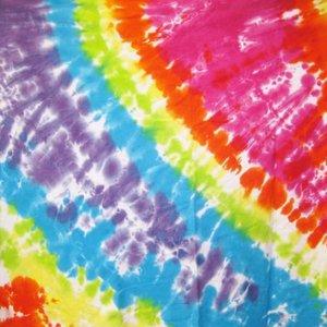 Tie Dye Brights Twin Sheet Set