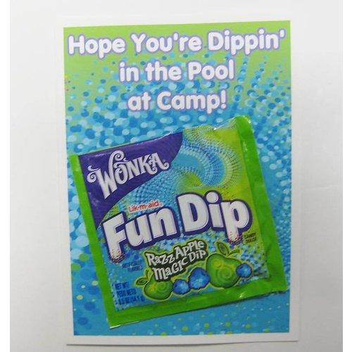 Fun Dip Candy Card