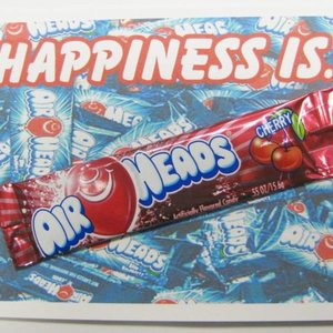 Air Head Candy Card