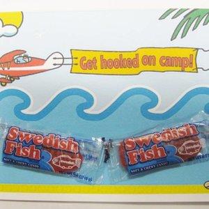 Swedish Fish Candy Card