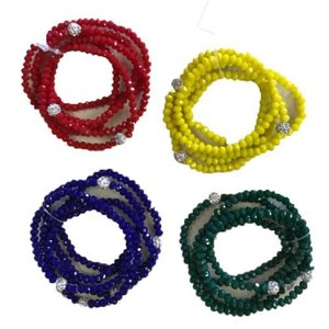 Beaded Shambala Bracelet Set
