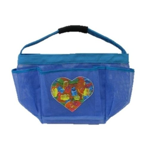 Gummy Bears in a Heart Shower Caddy