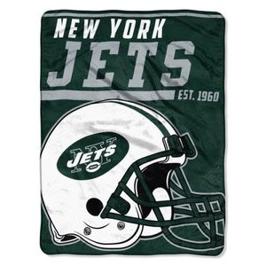 NY Jets Team Throw Blanket