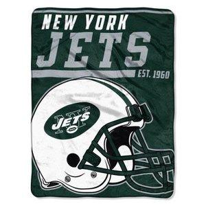 NY Jets Team Throw Blanket