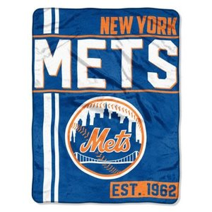 NY Mets Team Throw Blanket