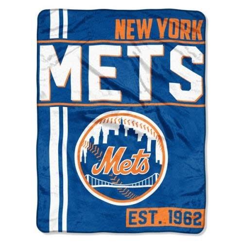 NY Mets Team Throw Blanket