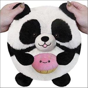 Panda Holidng a Cupcake Squishable