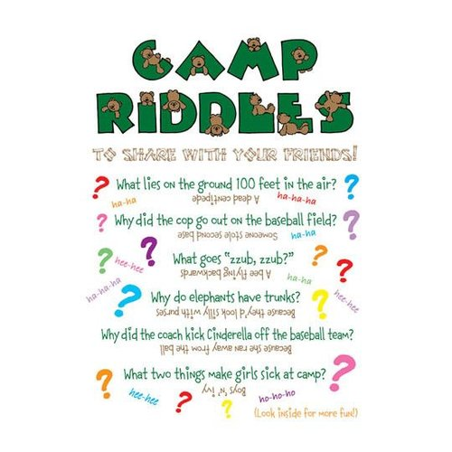 Camp Riddles Card