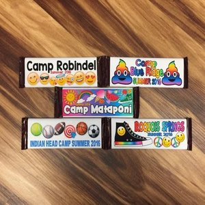 Custom Hershey Bars SET-OF-6