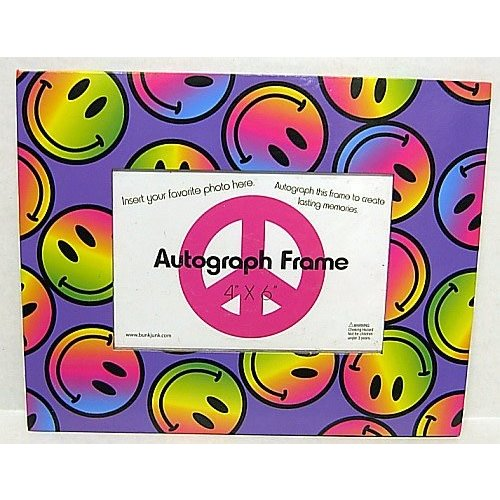 Tie Dye Smiley Autograph Frame