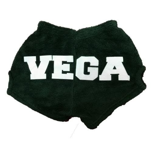 Large Camp Name on the Toosh Fuzzy Shorts