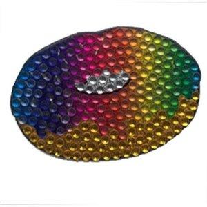 Rainbow Donut Bling Sticker