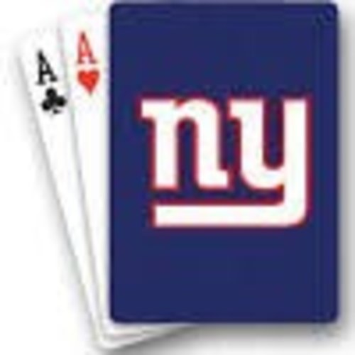 NY Giants Playing Cards
