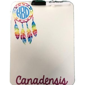 Dream Catcher Dry Erase Board