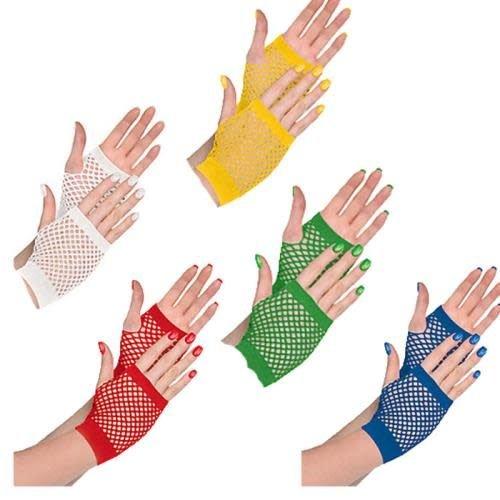 Short Fishnet Gloves