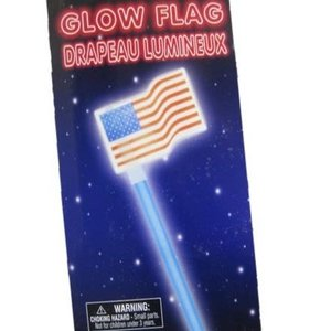 Glow in the Dark July 4th Flag