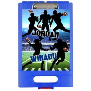 Football Silhouette Clipboard