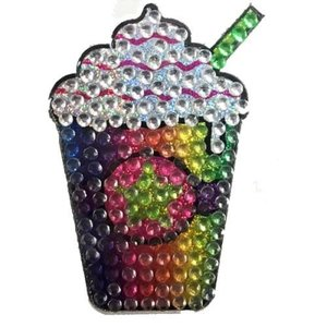 Rainbow Frap Bling Sticker
