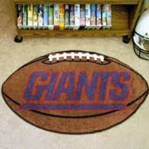 NY Giants Football Mat