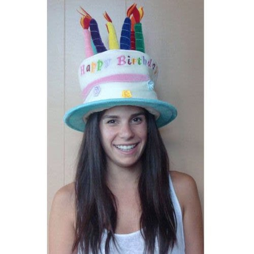 Birthday Cake Hat - Girls
